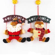 Gros Décoration De Noël Belle Père Noël Bonhomme De Neige Hang Décoration