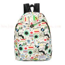OEM Leinwand Freizeit Schule Kinder Kinder Rucksack Schultasche