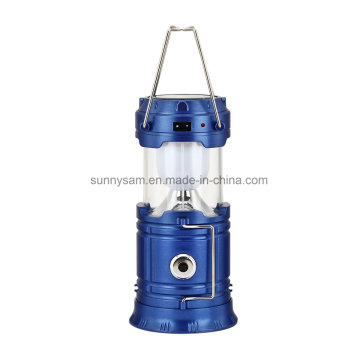 Portable Solar Lantern with Mobile Phone Charger Outdoor Lighting Products Solar Camping Light