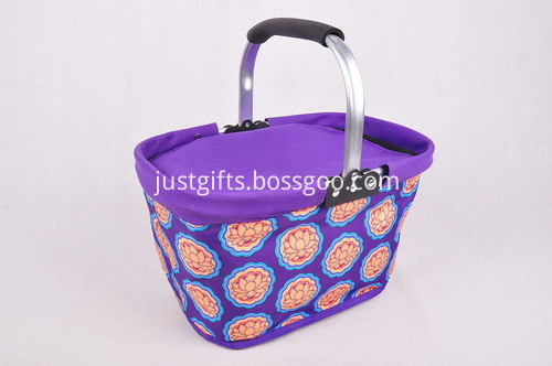 600D Folding Cooler Shopping Basket (5)