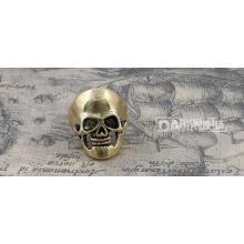 Mode Ring Schädel Modellierung Retro Kupfer Farbe 19 #