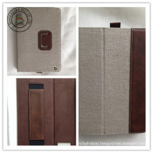 Hemp PU Leather Tablet PC Cases for iPad