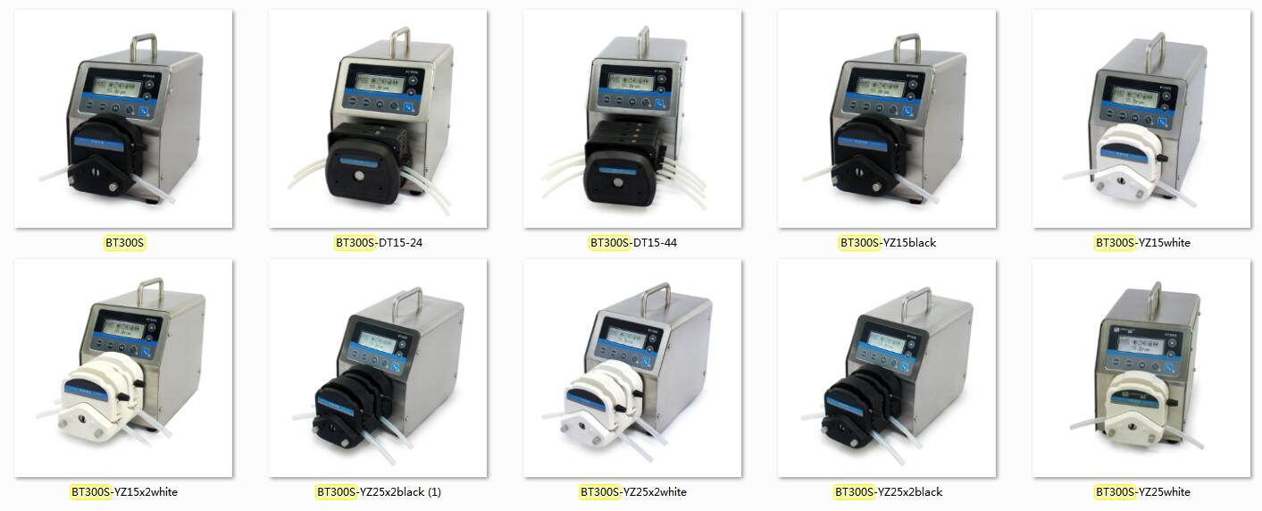 Speed Control Peristaltic Pump