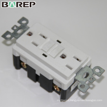 60HZ Wall standard grounding gfci electrical plugs sockets