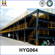 Prefab parking steel structure car garage building