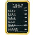 Vente en gros bon prix en acier inoxydable panneau de signalisation pour le hall de l'hôtel