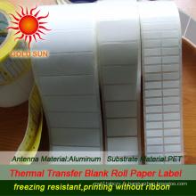 Étiquette thermique en papier imprimé (TPL-015)