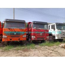 Refurbished Sinotruk HOWO 10 Wheels Dump Truck Tipper Truck