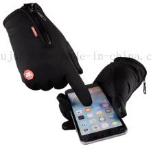 OEM теплые водонепроницаемый Спорт Сенсорный экран перчатки Telefingers