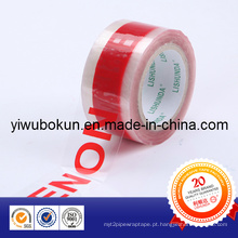 Fita adesiva de alta qualidade com logotipo impresso do fabricante