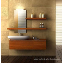 MFC modern melamine bathroom cabinets, gray bathroom vanity, bathroom vanity import 48''