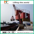 Tragbare Werft Krane wippbar Portalkran