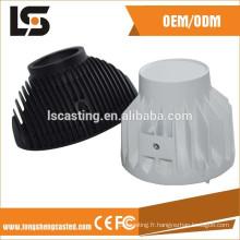 dissipateur de chaleur de moulage mécanique sous pression pour le logement d'appareil-photo de cctv