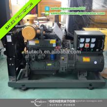 3phase 50 / 60hz marca china weifang 50KW generador diesel con motor ZH4105ZD