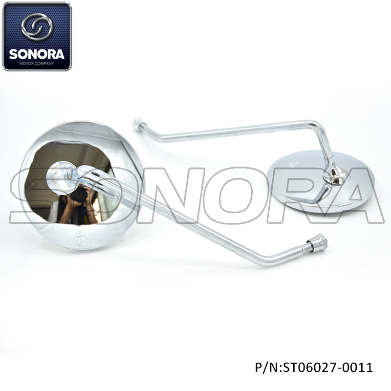 ST06027-0011 Mirror Chrome M8 with M10 adaptor for Vespa (2)