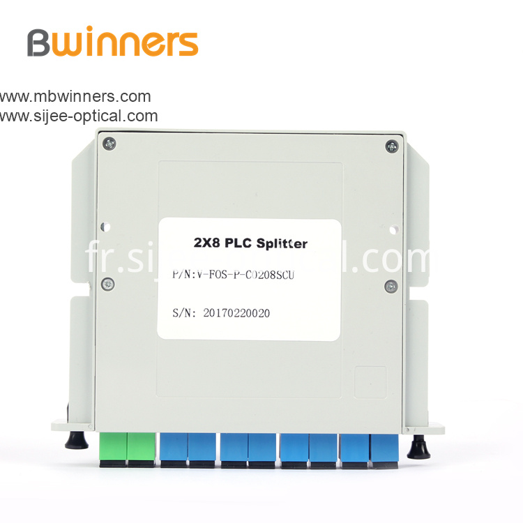 Insertion Module 2x8 Sc Apc Plc Splitter