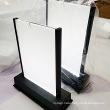 Led Acrylic Menu Cover Tent Restaurant Menu Holder Display Led Menu Holder