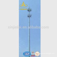 Mât télescopique d'antenne mobile 18 m (60 pieds)