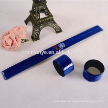 Werbe PVC-reflektierende Fluoreszenz Schlag Armband