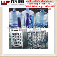 china supplier production Injection 5 gallon preform mould with cap and handle