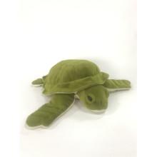 Tartaruga de mar de pelúcia exército verde