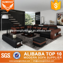 гостиничная мебель в европейском стиле, оригинальной формы установлен диван U дизайн