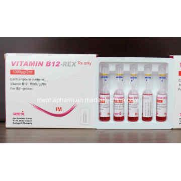Vitamin B12 Komplex Vitamin Gruppe Komplex Vitamin B -Vb12, Vb