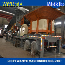 Low price complete mobile crushing plant