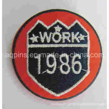 Customized Embroidery Tin Badge Badge in Factory Price (button badge-69)