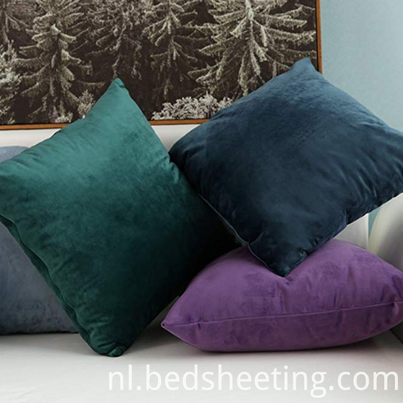 Colorful Velvet Quare Pillow Covers