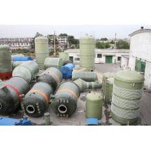 Fiberglas Chemical Storage Tank / Schiff