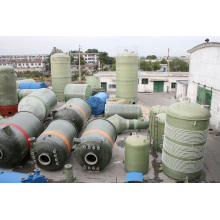 Tanque de armazenamento de produtos químicos de fibra de vidro / navio