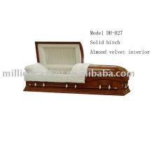 Cercueil de placage d'érable