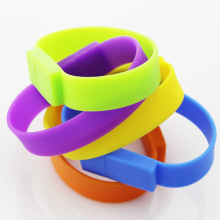 Fashion Silicone USB Bracelet