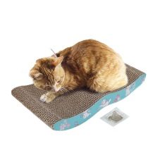 Ordinary Discount for S Shaped Sleeping Cat Toy pet toys wholesale cat scratch board scratching pad export to Saint Vincent and the Grenadines Manufacturers
