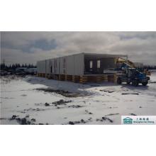 Niedriges Kosten-modernes vorfabriziertes Behälter-Haus für vorübergehende Unterkunft