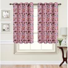 Good Insulation Printed Kitchen Curtain
