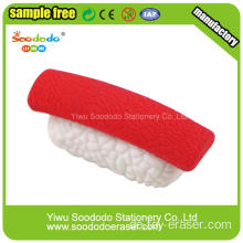 Delicious Verschiedene Sushi Food Shaped Eraser