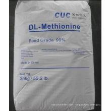 High Quality Dl-Methionine 99% Feed Grade CAS: 59-51-8