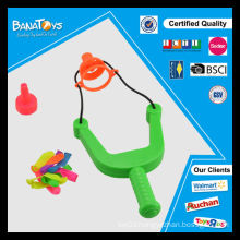 Funny child toys set with water leakage slingshot