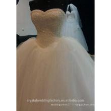 Robe De Mariage Sweetheart Perles De Dentelle Robe De Mariée Robe De Mariée Vestido De Noiva Robe De Mariée CWF2326
