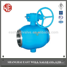 A spindle fully welded ball valve