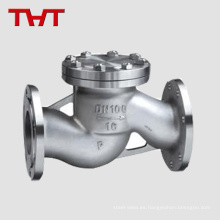 wafer lift 2pc spring api ss316 check valve 8 '2500lb