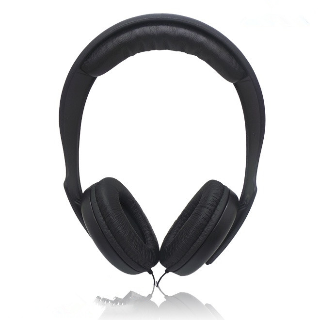 Leather over head earphone