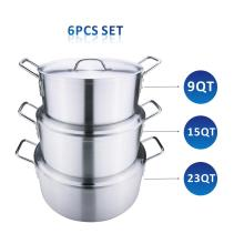 Heavy Duty Aluminum Sauce Pot Set