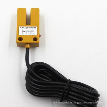 Capteur de proximité inductif de type colonne angulaire Lmf14