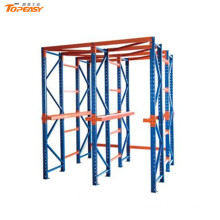 high density adjustable drive in pallet racking