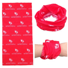 Bandolera promocional personalizada del tubo del cuello del poliester impreso