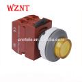 Petit interrupteur à bouton-poussoir 24 volts à tête convexe de 37,5 mm