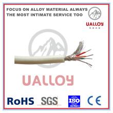 Typ T PVC Isolierte / Geflochtene Thermoelement Kompensationskabel